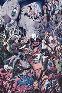 "Luke Flowers ""Del Toro's Treehouse"" Wood Print"