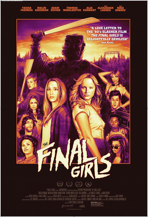 Primer simpático cartel de The Final Girls... no está mal