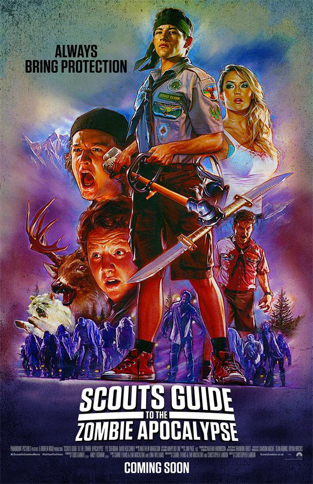 Este cartel mola por muchas cosas... pero ese venado zombi... Posesión Infernal!