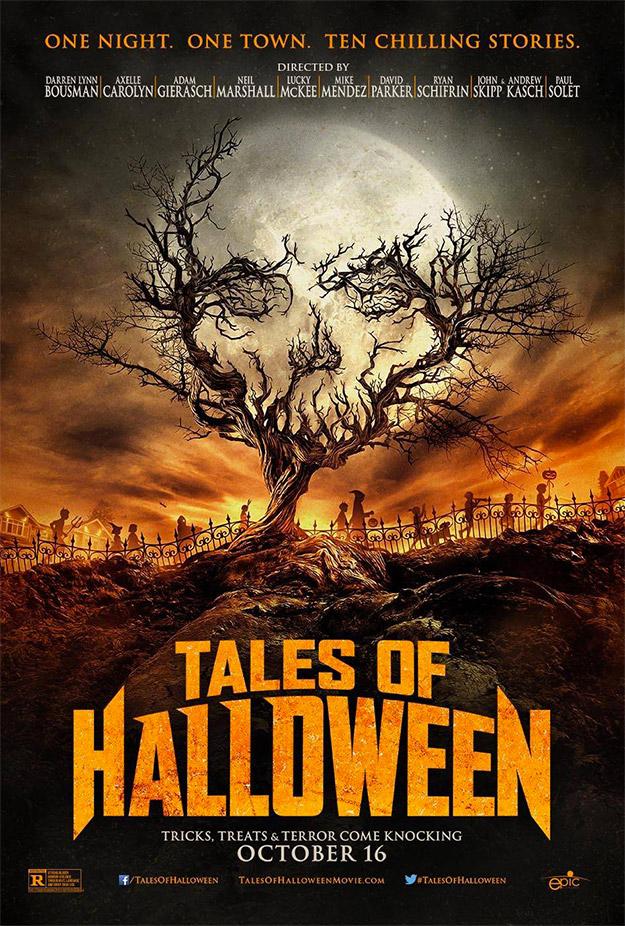 Primer cartel de Tales of Halloween... que mola un rato largo