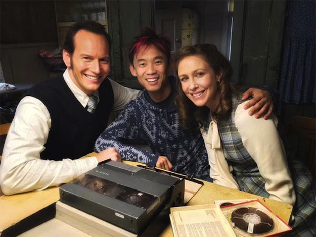 Regresan el matrimonio Warren con el bueno de James Wan