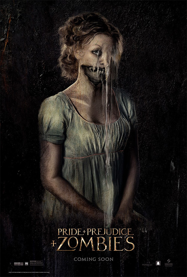 Otro cartel más de Pride and Prejudice and Zombies