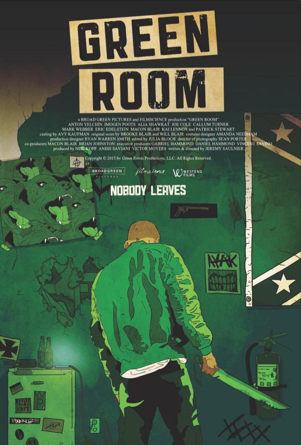 Un cartel curioso de Green Room de Jeremy Saulnier