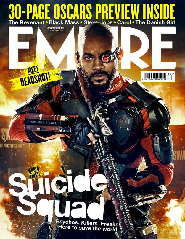 Will Smith como Deadshoot en Suicide Squad