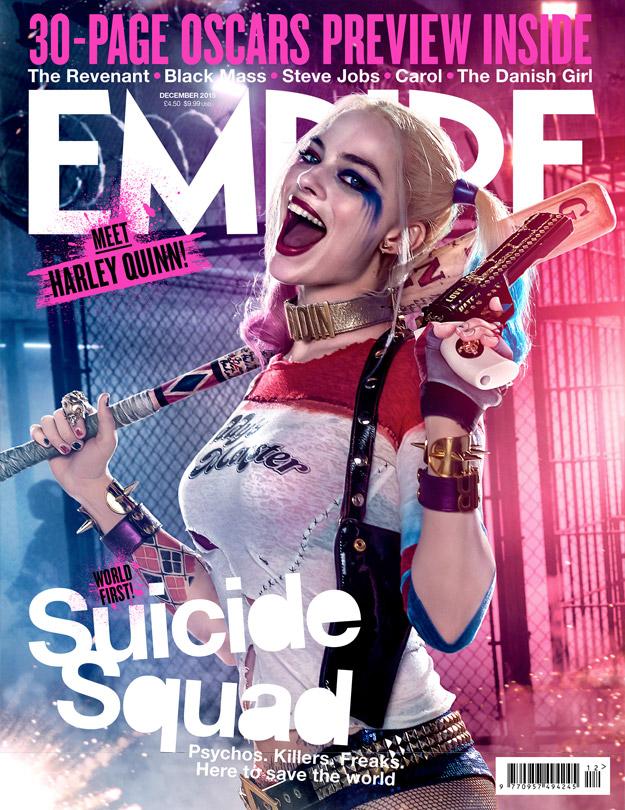 Margot Robbie como Harley Quinn en Suicide Squad