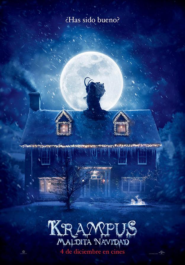 Cartel de Krampus – Maldita Navidad... 4 de diciembre en cines