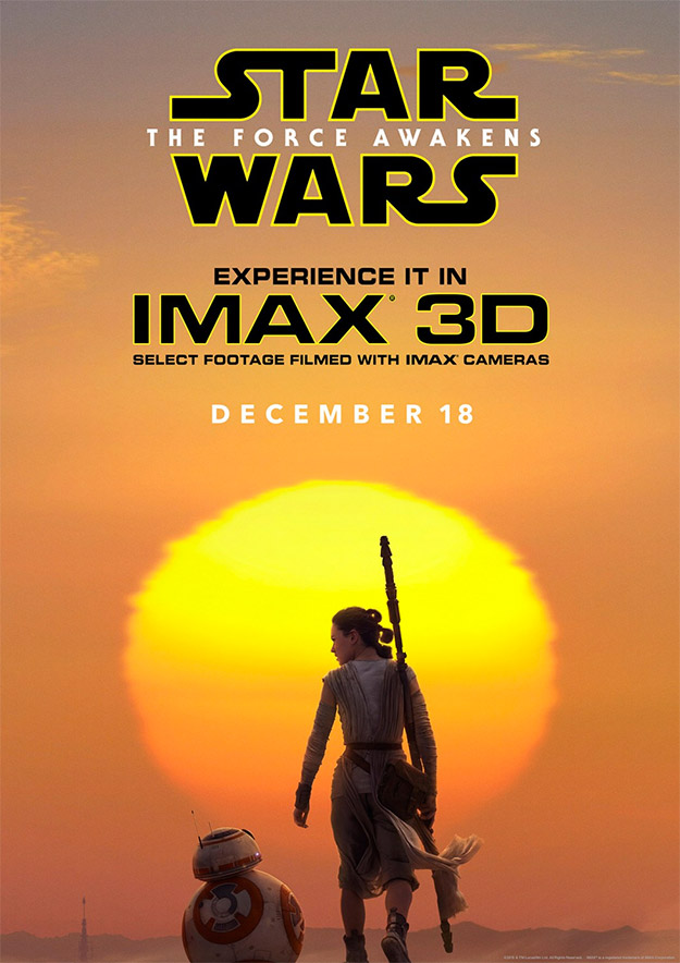 Cartel IMAX de Star Wars: El Despertar de la Fuerza