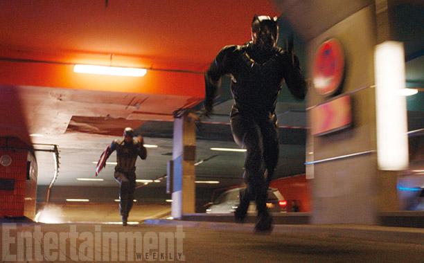 Capitán América vs. Pantera Negra, ¿quién corre más?