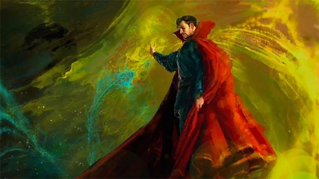 El primer concept art de Doctor Strange muestra a un místico Benedict Cumberbatch