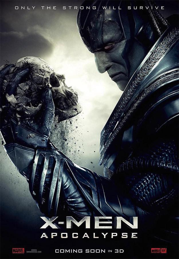 El nuevo cartel de X-Men: Apocalipsis, sólo el fuerte sobrevivirá