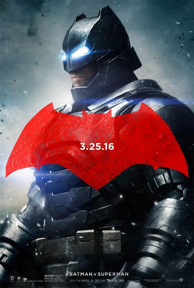 Batman con su traje aguántalo todo para Batman v Superman: El Amanecer de la Justicia