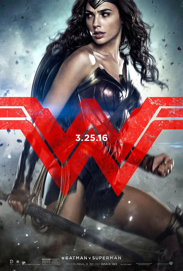 Una Wonder Woman de armas tomar para Batman v Superman: El Amanecer de la Justicia
