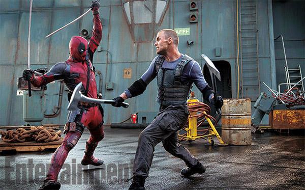 Y otra imagen más de Deadpool, esta de su pelea contra Ajax