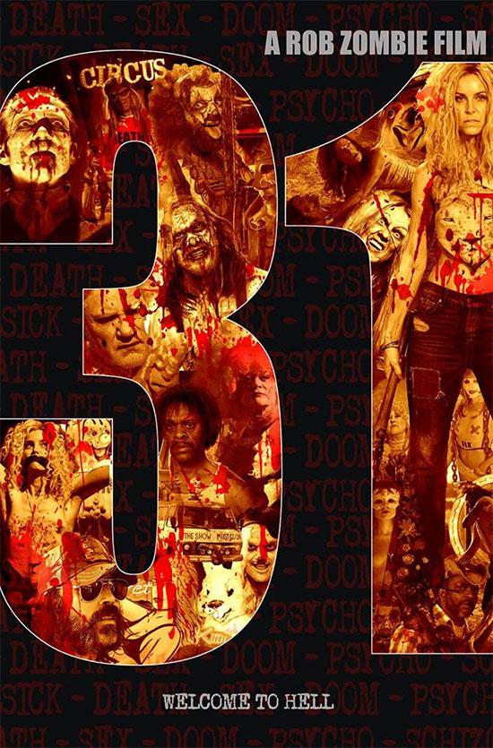 Primer cartel de 31 de Rob Zombie