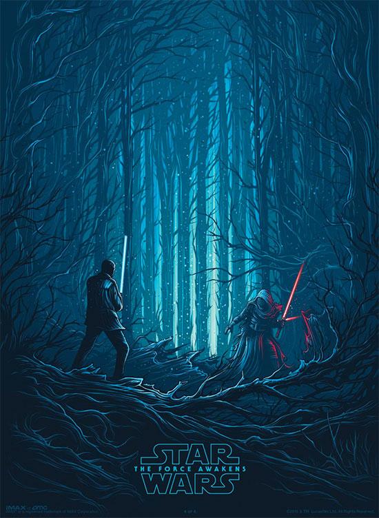 Y otro cartel más para IMAX de Star Wars: El Despertar de la Fuerza