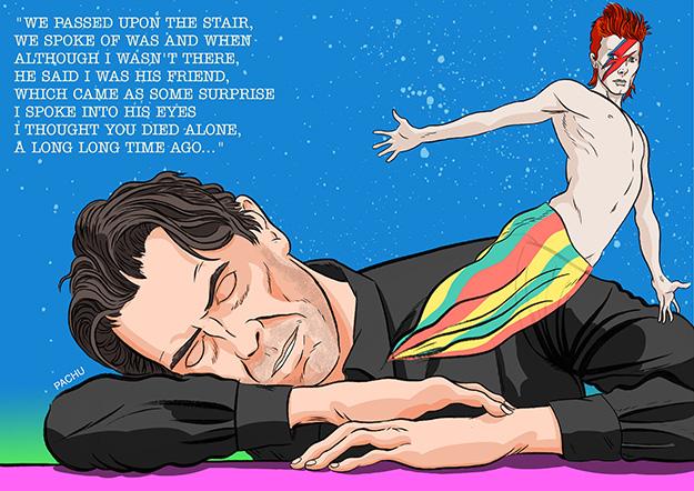 David Bowie por Pachu