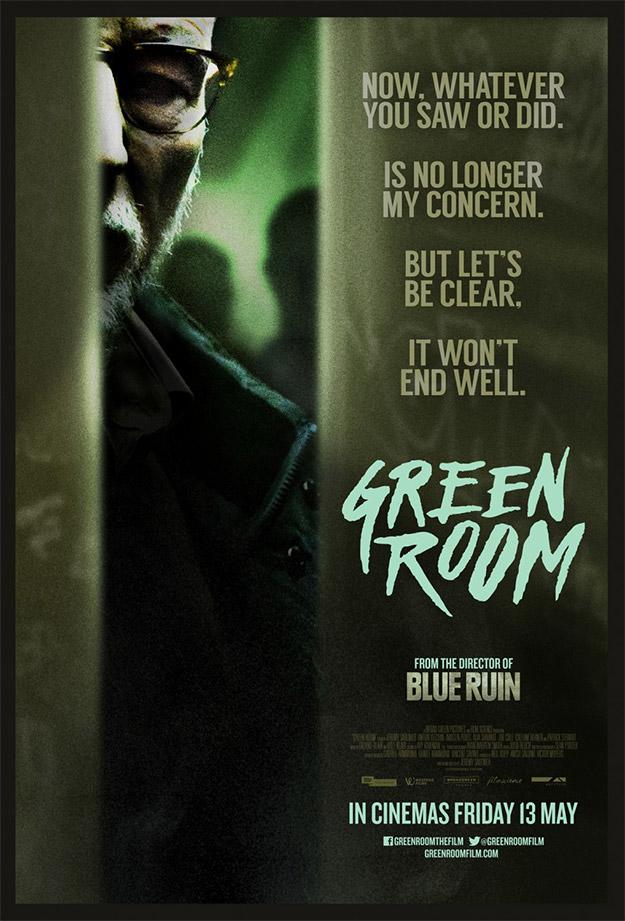 Cartel de Green Room