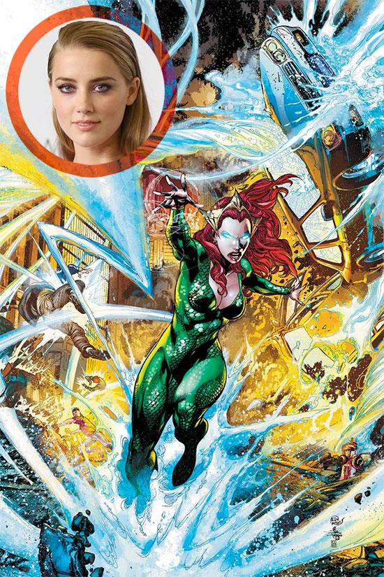 Amber Heard puede que sea finalmente Mera en Aquaman