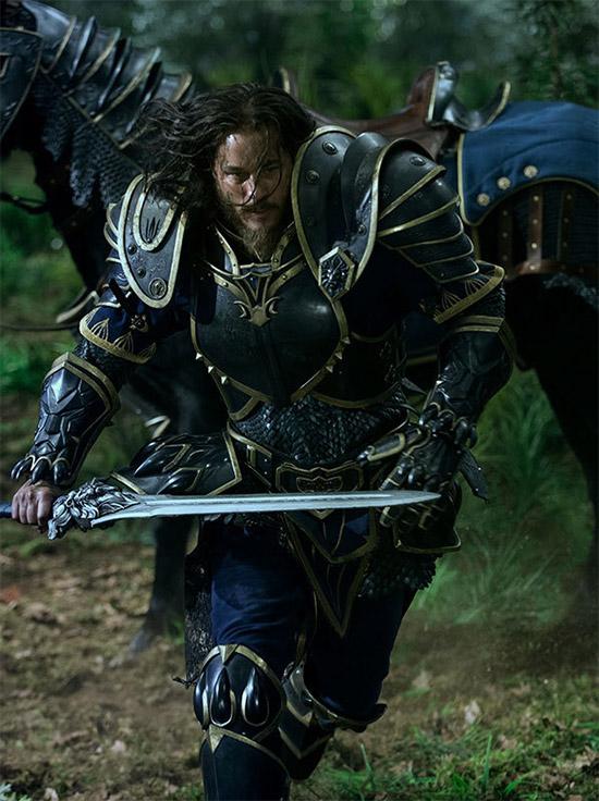 Una nueva imagen de Anduin Lothar (Travis Fimmel) en Warcraft