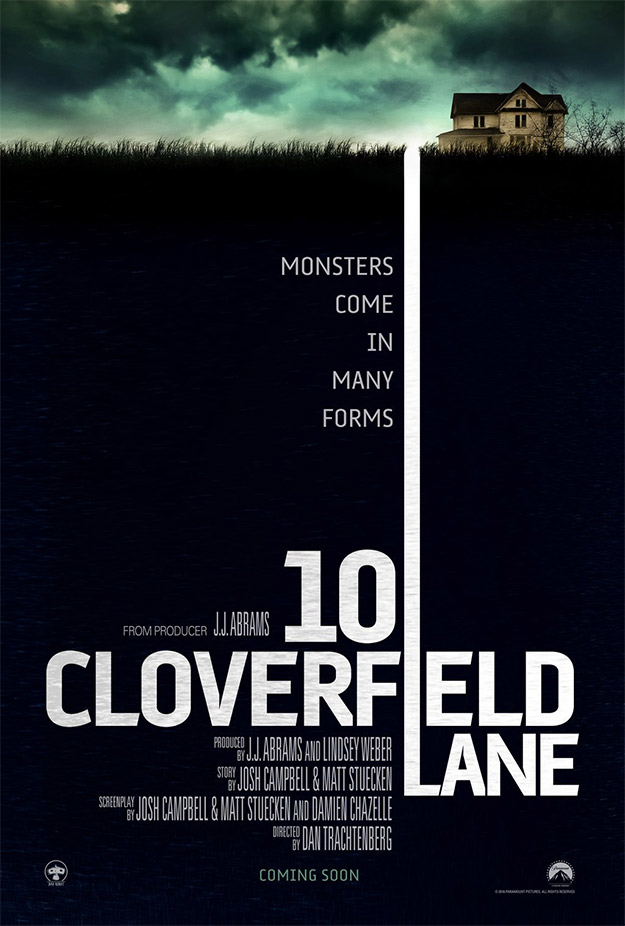 Primer cartel de Calle Cloverfield 10 AKA 10 Cloverfield Lane AKA The Cellar AKA Valencia