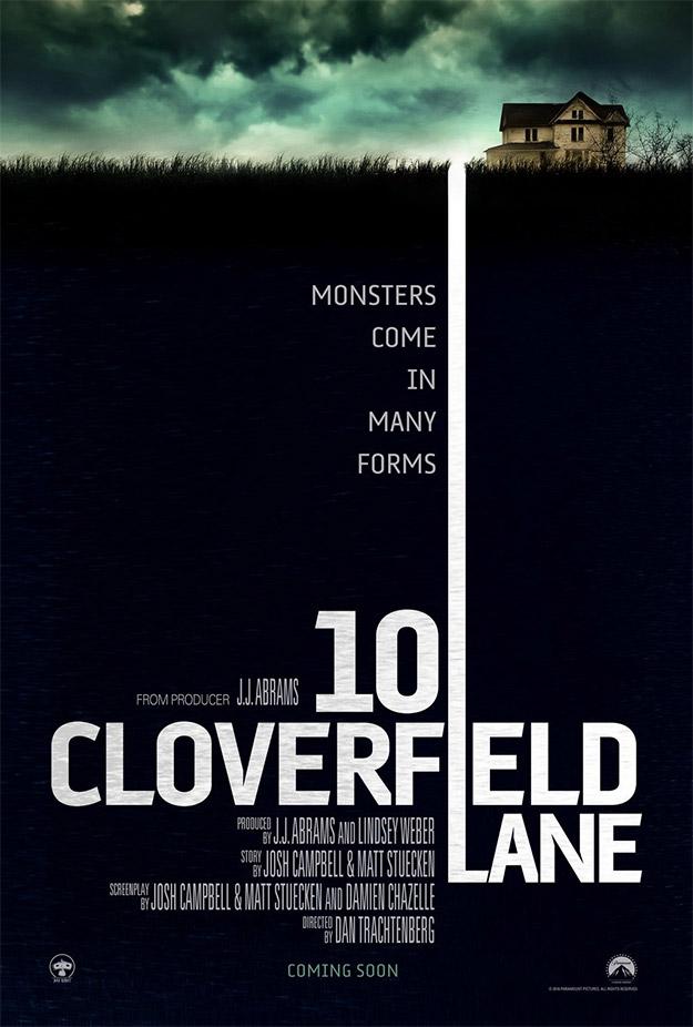 Primer cartel de Calle Cloverfield 10 AKA 10 Cloverfield Lane AKA The Cellar AKA Valencia