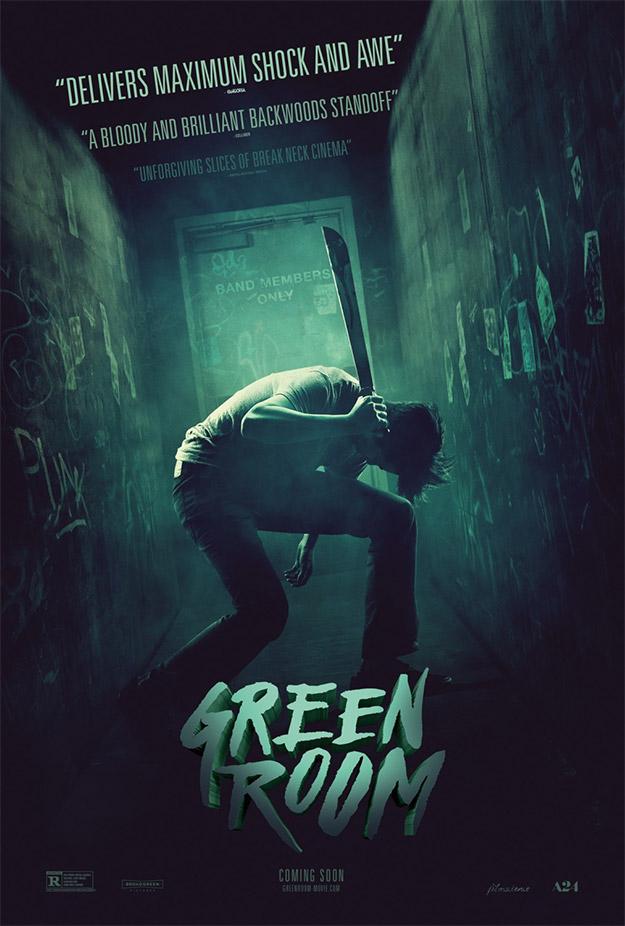 Un nuevo cartel de Green Room de Jeremy Saulnier