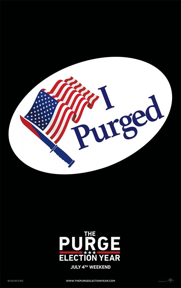 Ni fu ni fa este cartel de Elección: la noche de las bestias