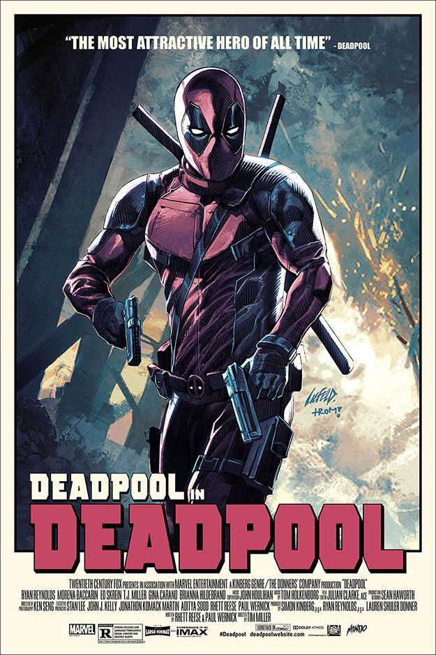Gran póster de Deadpool versión 2