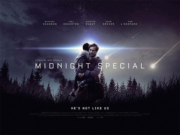 Este es otro cartel de Midnight Special