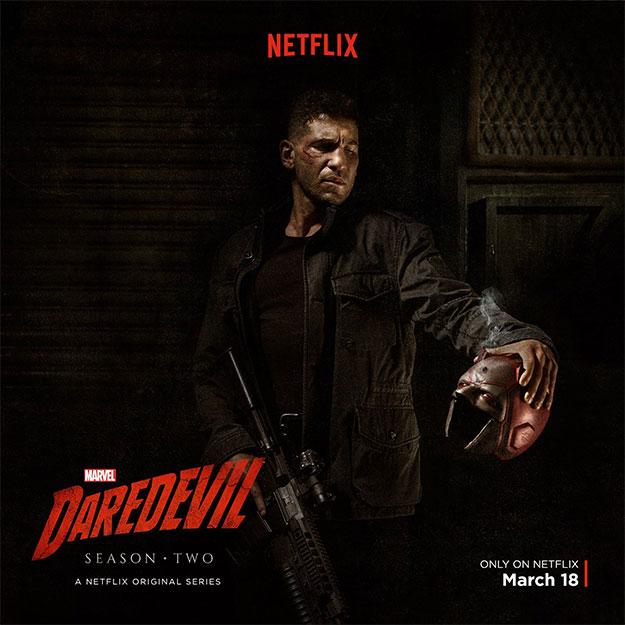 """Saludemos a Punisher en la segunda temporada de """"Daredevil"""""""