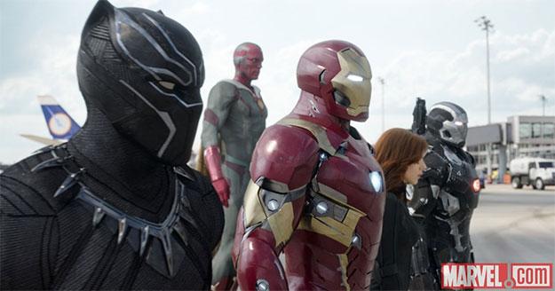 Nuevas imágenes de Capitán América: Guerra Civil