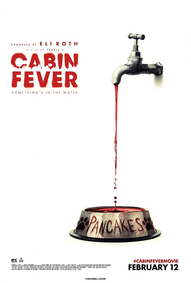 Tres carteles de la nueva Cabin Fever...