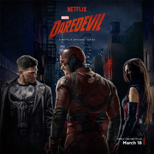 """Genial póster de la nueva temporada de """"Daredevil"""""""