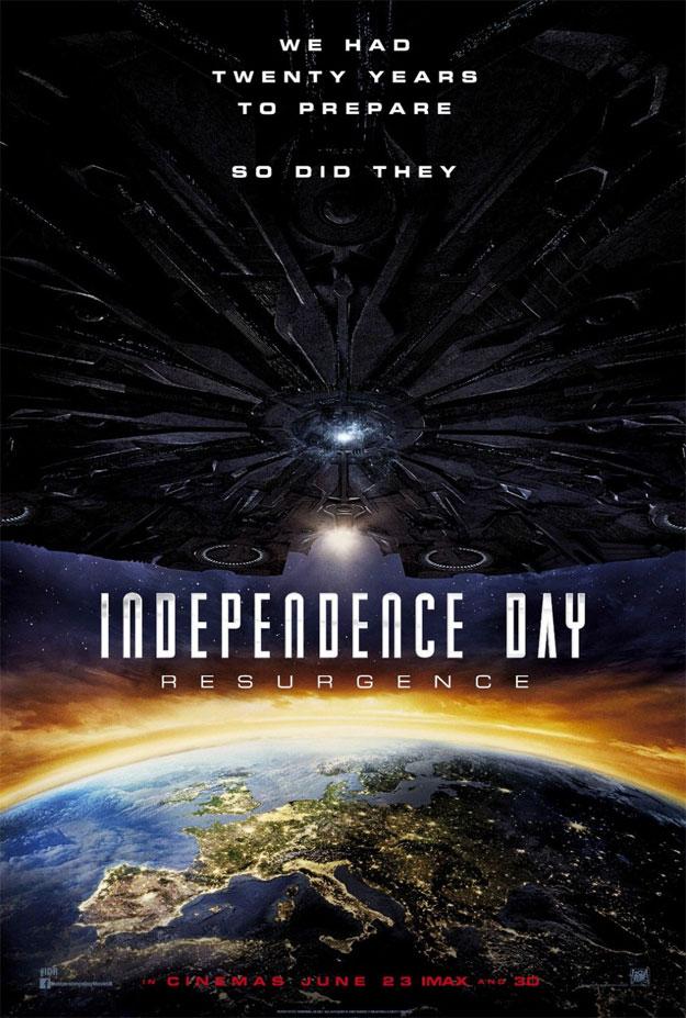 España entre los objetivos del nuevo Independence Day