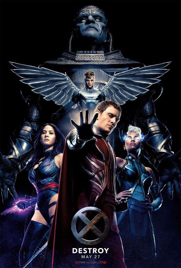 Me encanta este cartel de X-Men: Apocalipsis
