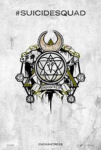 Pintadas Deadshot, Boomerang y Enchantress