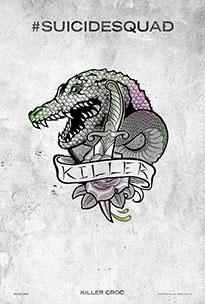 Pintadas Killer Croc, Katana y Slipknot