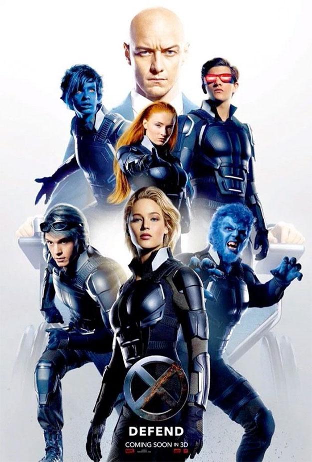 Este cartel de X-Men: Apocalipsis no mola tanto como el del otro día... cosas