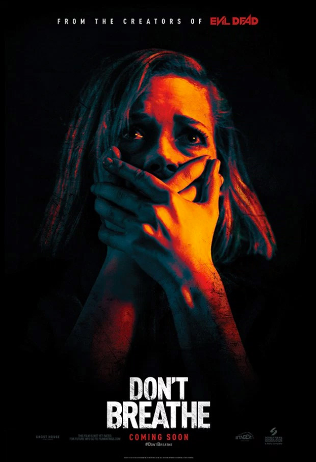 Primer cartel de Don't Breathe de Fede Álvarez
