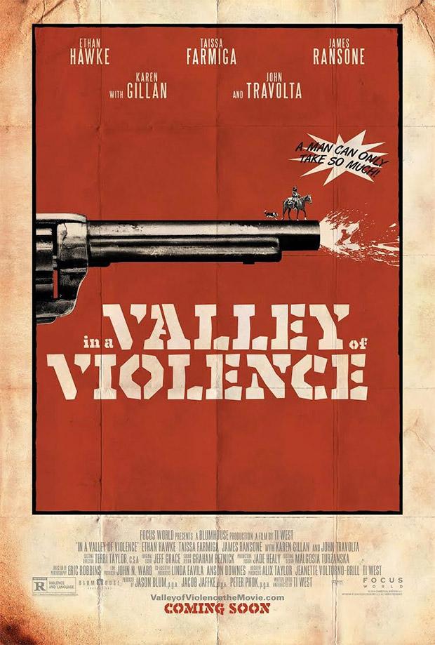 Primer cartel de In a Valley of Violence