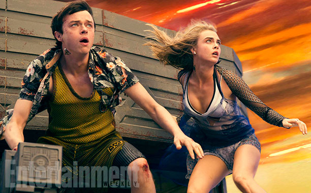 Nuevas imágenes de Valerian and the City of a Thousand Planets