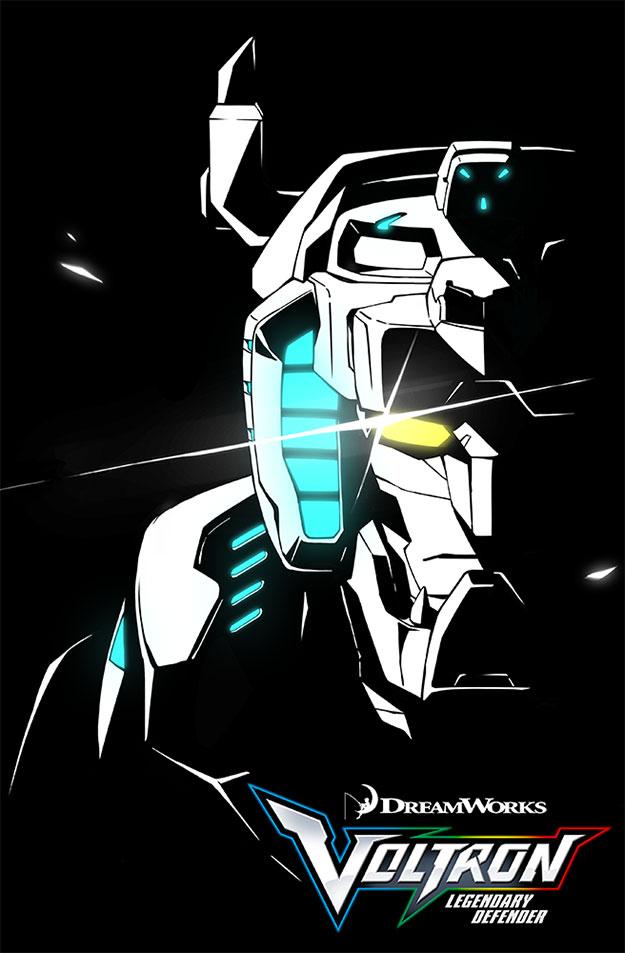 Nuevo cartel de Voltron: Legendary Defender