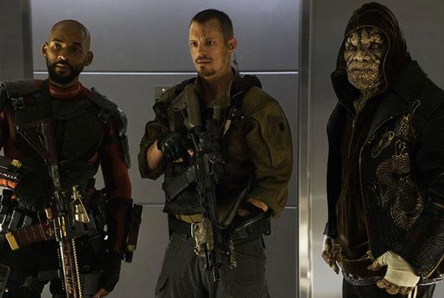 Tres de los miembros de Escuadrón Suicida