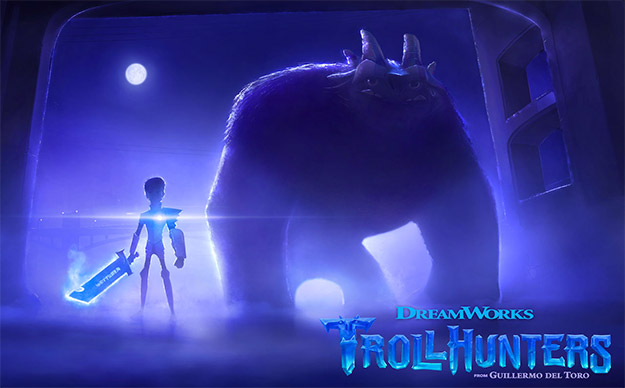 Primera imagen de Trollhunters de Guillermo del Toro y Dreamworks