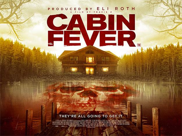 Nuevo póster de Cabin Fever, el remake de la sangría de Eli Roth