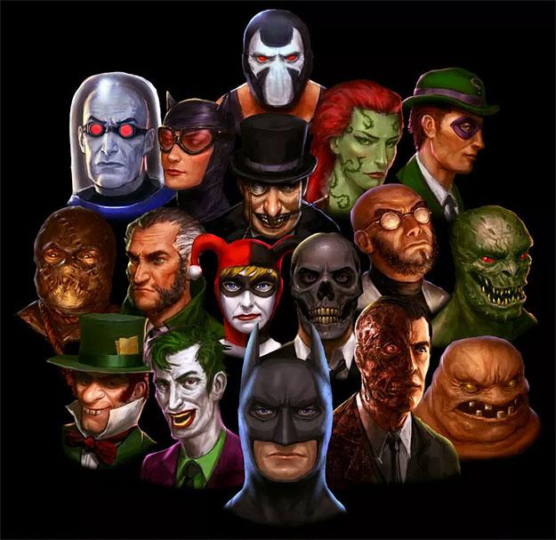 ¿Una cantidad ingente de villanos en The Batman de Ben Affleck?