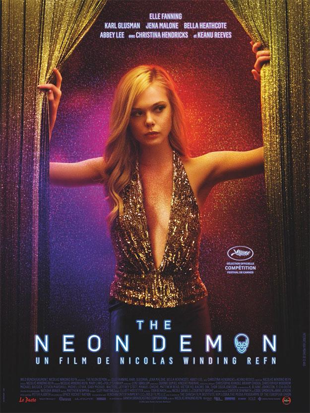 Nuevo cartel oficial de The Neon Demon
