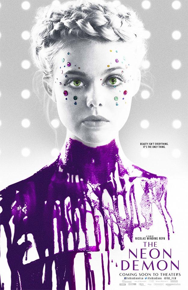 Otro bonito cartel, no rojo, de The Neon Demon de Nicolas Winding Refn