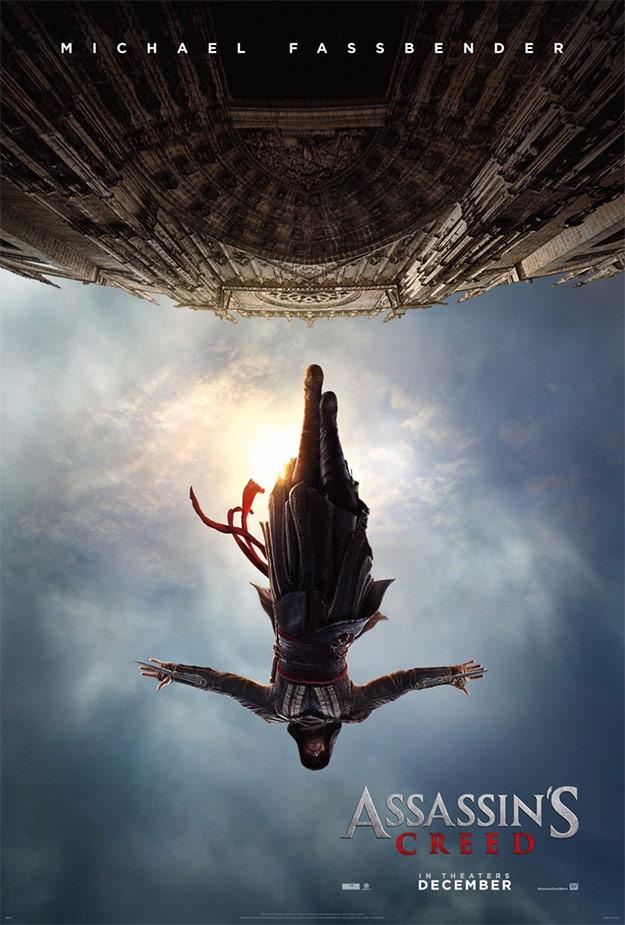 El cartel mola, como era de esperar dada la marca Assassin's Creed