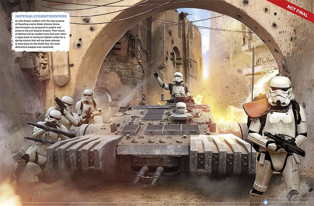 Vehículos nuevos en Rogue One: Una Historia de Star Wars